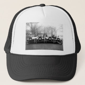 Glamour Girls & Classic Cars Vintage Photo Trucker Hat