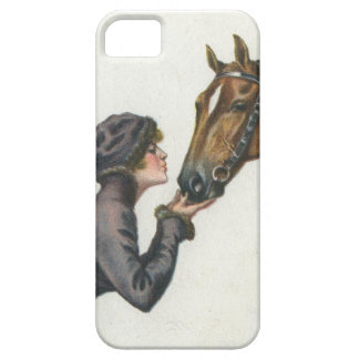 Glamour/Glamor Girl and Horse iPhone 5 Cover