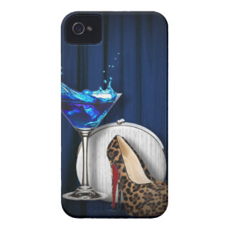 glamour martini cocktail party girl stilletos iPhone 4 covers