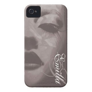 Glamour painted mono fashion iphone4S barely case iPhone 4 Case