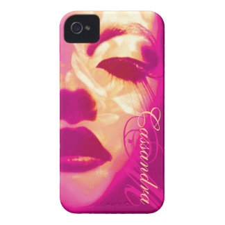 Glamour painted pink fashion iphone4S barely case iPhone 4 Cases