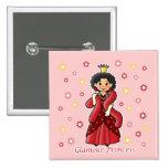 Glamour Princess Button