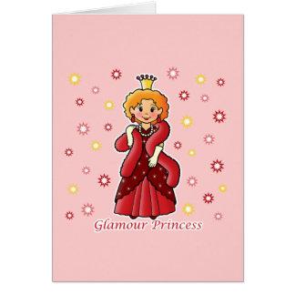 Glamour Princess Card