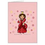 Glamour Princess Greeting Card