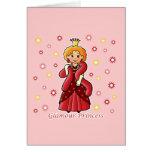 Glamour Princess Greeting Cards