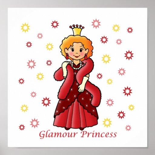 Glamour Princess Poster