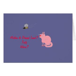 Glamour Puss Card