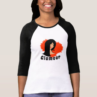 Glamour  Sleeve Raglan T-Shirt