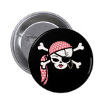 Glamourous Pirate Badges