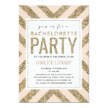 Glamourous Shimmer | Bachelorette Party Invitation