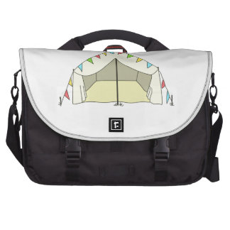 GLAMPING TENT LAPTOP COMMUTER BAG