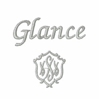Glance Embroidered Ladies Zipped Hoodie
