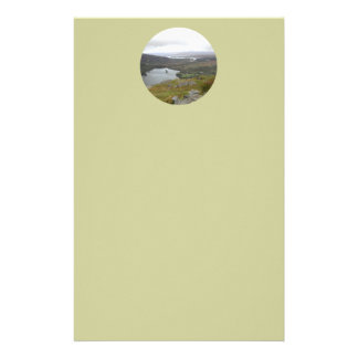 Glanmore Lake from Healy Pass Ireland Round Personalized Stationery