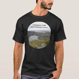 Glanmore Lake from Healy Pass Ireland. Round. T-Shirt