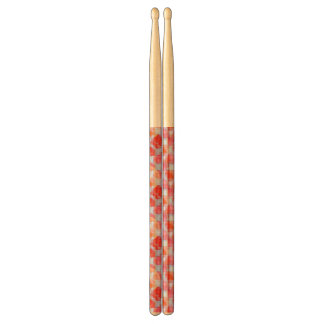 Glare from design texture background drumsticks