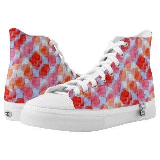 Glare from design texture background high tops