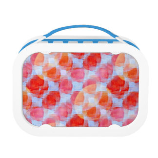 Glare from design texture background lunch box