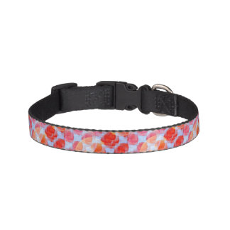 Glare from design texture background pet collar