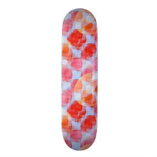 Glare from design texture background skate deck