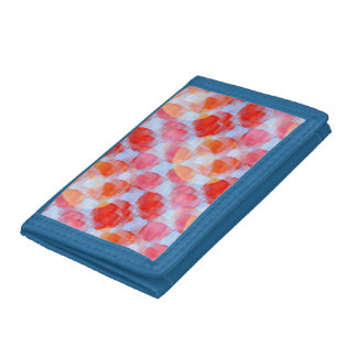 Glare from design texture background trifold wallets