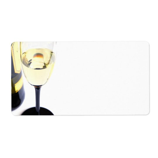 glas_wine shipping label
