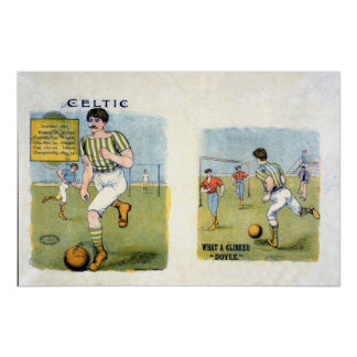 Glasgow Celtic FC, 1894 Poster
