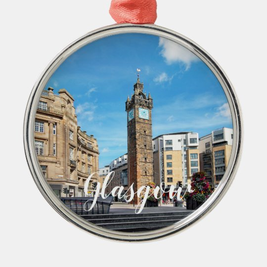 Glasgow Customise Product Christmas Ornament