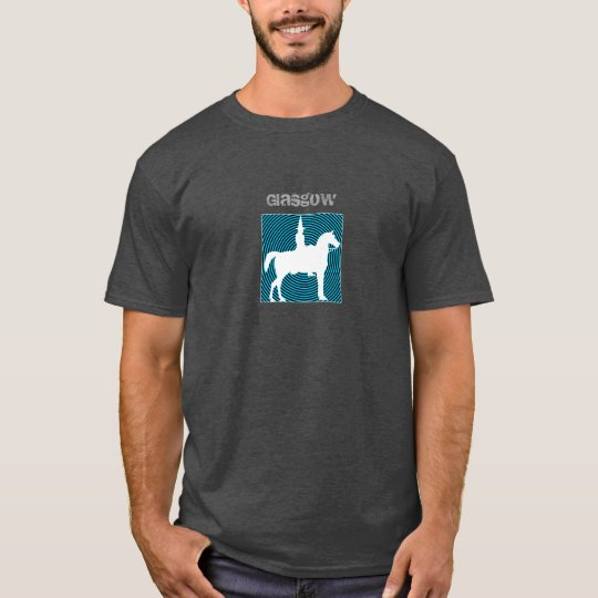 Glasgow Duke of Wellington Blue Circle T-Shirt