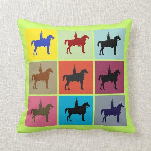 Glasgow Duke of Wellington Box Pattern Cushion Throw Pillow