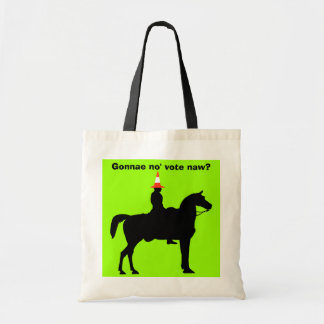 Glasgow Duke of Wellington Don't Vote Naw Tote Bag