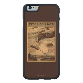 Glasgow Hot Air Balloon Circus Theatre Poster Carved® Maple iPhone 6 Slim Case