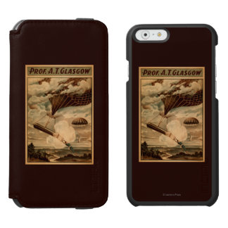 Glasgow Hot Air Balloon Circus Theatre Poster Incipio Watson™ iPhone 6 Wallet Case
