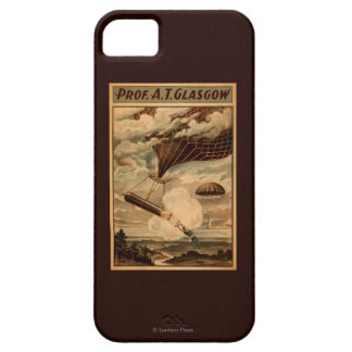 Glasgow Hot Air Balloon Circus Theatre Poster iPhone 5 Covers