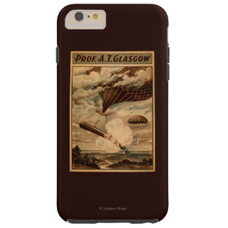 Glasgow Hot Air Balloon Circus Theatre Poster Tough iPhone 6 Plus Case