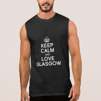 GLASGOW KEEP CALM - -.png Sleeveless Shirt