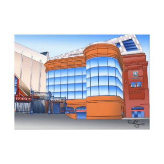 Glasgow Rangers Football Club Canvas Print