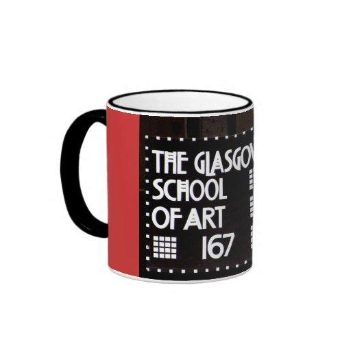 Glasgow School of Art Doorplate Mug