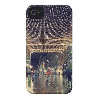 Glasgow Scotland Christmas Lights iPhone 4 Case-Mate Case