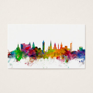 Glasgow Scotland Skyline Business Card
