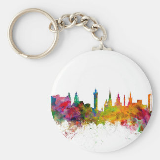 Glasgow Scotland Skyline Keychain