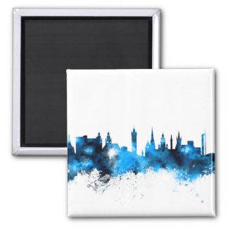 Glasgow Scotland Skyline Magnet