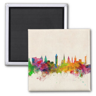 Glasgow Scotland Skyline Fridge Magnet