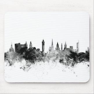 Glasgow Scotland Skyline Mouse Pad
