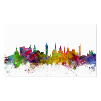 Glasgow Scotland Skyline Pack Of Standard Business Cards
