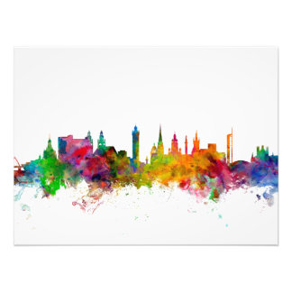 Glasgow Scotland Skyline Photo Print