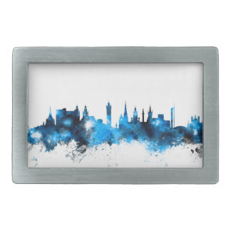 Glasgow Scotland Skyline Rectangular Belt Buckles