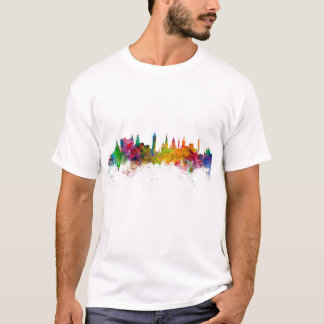 Glasgow Scotland Skyline T-Shirt