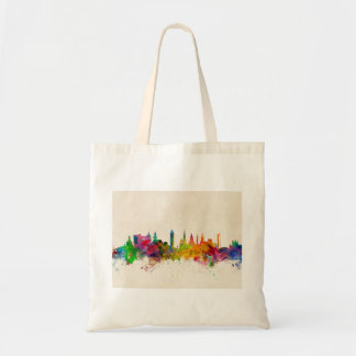 Glasgow Scotland Skyline Tote Bag