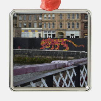glasgow tiger christmas ornament