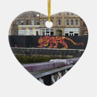 glasgow tiger christmas ornament